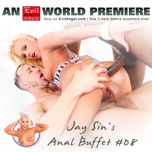 Check out Jay Sin's World Premiere Anal Buffet #08 from Jay Sin