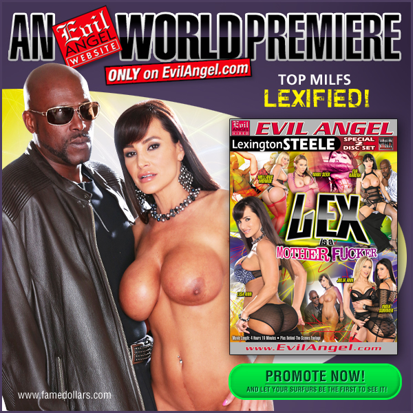 Lex is a Motherfucker! The Sophomore release from new Evil Angel director Lexington Steele