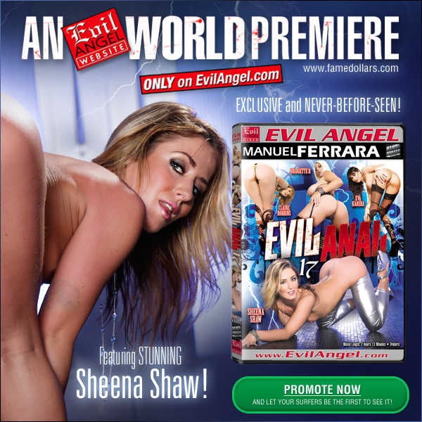 Evil Angel World Premiere: Evil Anal 17 from Manuel Ferrara