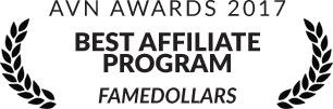 AVN Award 2017: Best Affiliate Program Famedollars